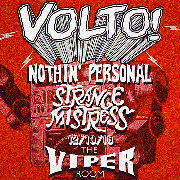 DANNY WITH VOLTO! AT THE VIPER ROOM (UPDATE)