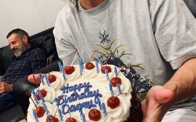 THE D.C. B.D. Cake
