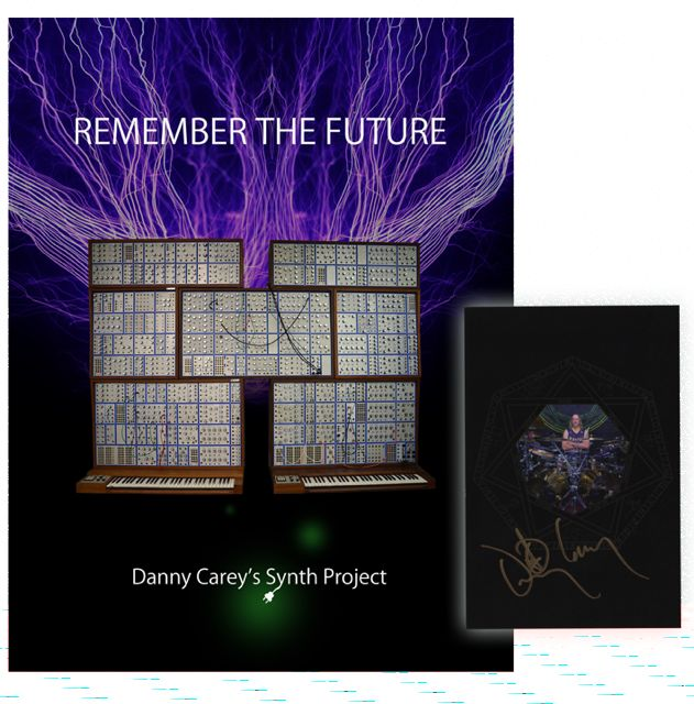 REMEMBER THE FUTURE – DANNY'S SYNTH PROJECT BOOK