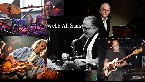 DANNY WITH WEBB ALL STARS ON JULY 28