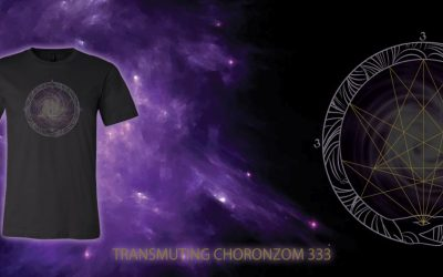 TRANSMUTING CHORONZOM 333 TEE BACK IN STOCK