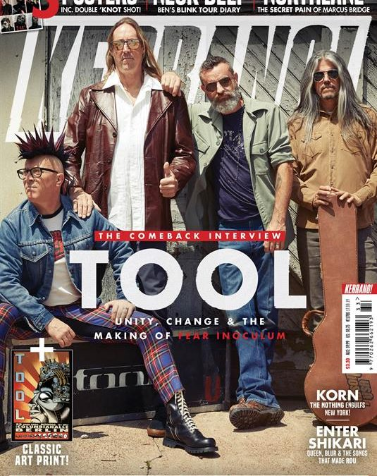TOOL NEWS ON THE BAND'S SOCIALS