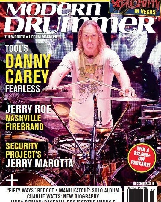 DANNY ON THE COVER OF… MODERN DRUMMER