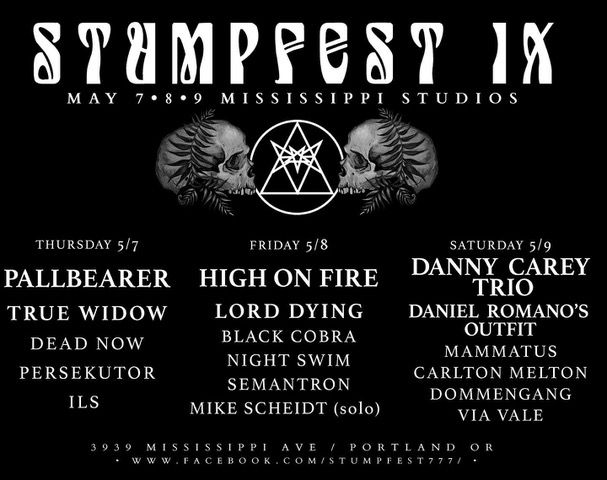 STUMPFEST IX TICKETS AVAILABLE FOR MAY 7 AND MAY 9