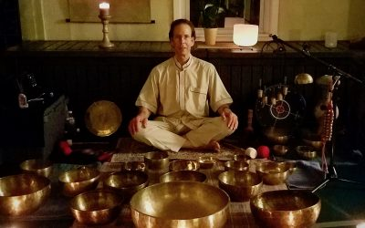 TIBETAN SINGING BOWL SOUND MEDITATION AT COSM
