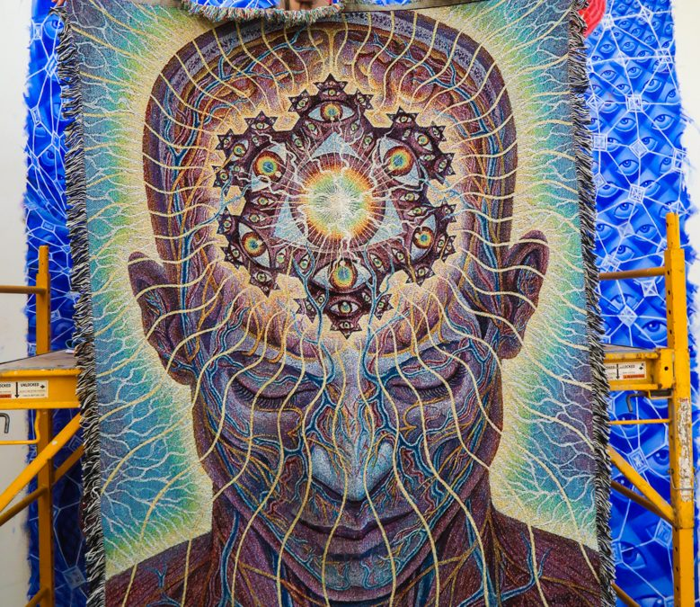 NEW ALEX GREY BLANKET AVAILABLE MAY 19