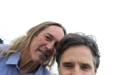 DANNY AND BRIS IN MALIBU