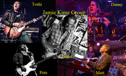DANNY WITH JAMIE KIME BAND LIVESTREAM SEPT 27