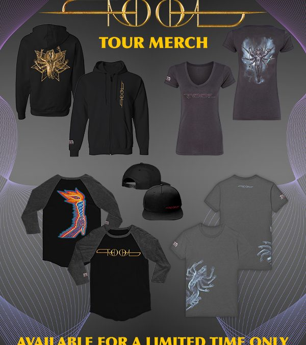 TOOL MERCH SALE COUNTING DOWN TO END